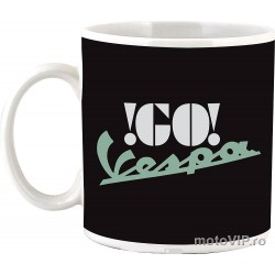 Vespa Black mug, 330 ml