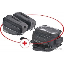 Set tankbag și sidebags Louis, 55 litri