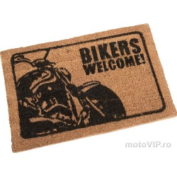 Door door Bikers Welcome!