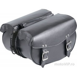 Cobs Highway 1 saddlebags, 17 liters