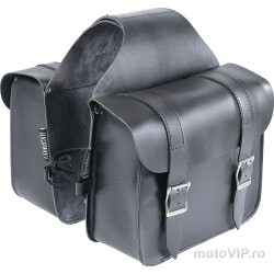 Cobs Highway 1 saddlebags genuine leather, 14 liters