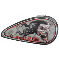 "Metal panel ""Touch of evil"""