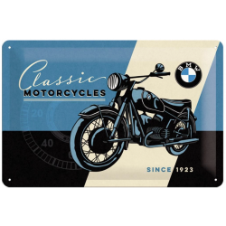 "Metal panel ""BMW Classic Motorcycles"""
