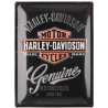 "Panou metalic ""Harley-Davidson Genuine"" 300x400 mm"