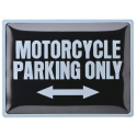 BMW Motorrader metal sign